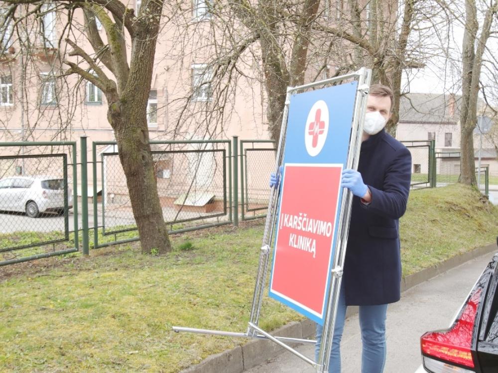 Sėkmingas Klaipėdos karščiavimo klinikos startas
