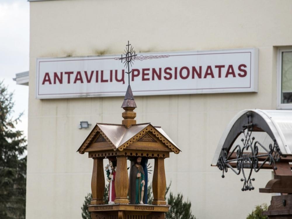 NVSC atstovė: Antavilių pensionate koronavirusas plinta dėl infekcijų kontrolės pažeidimų