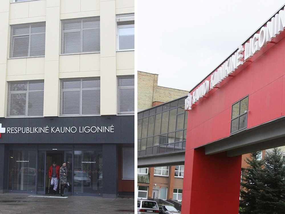 Kauno klinikinė ir respublikinė ligoninės po sujungimo vadinsis LSMU Kauno ligonine