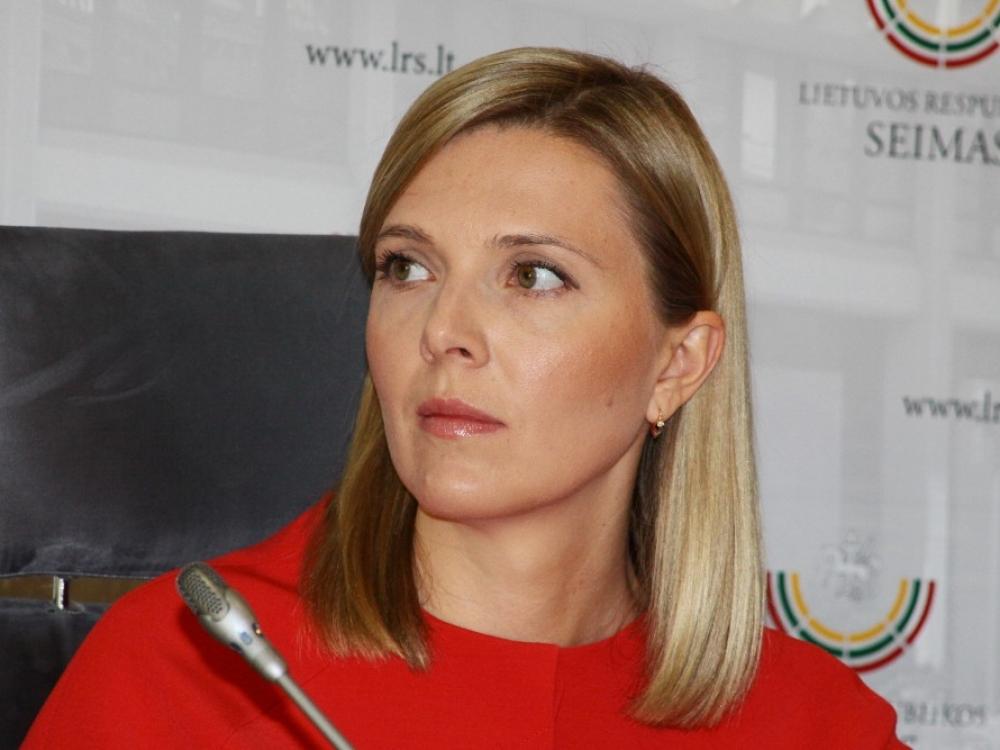 """Agnė Bilotaitė: """"Tarnybos reputacija labai prasta"""""""