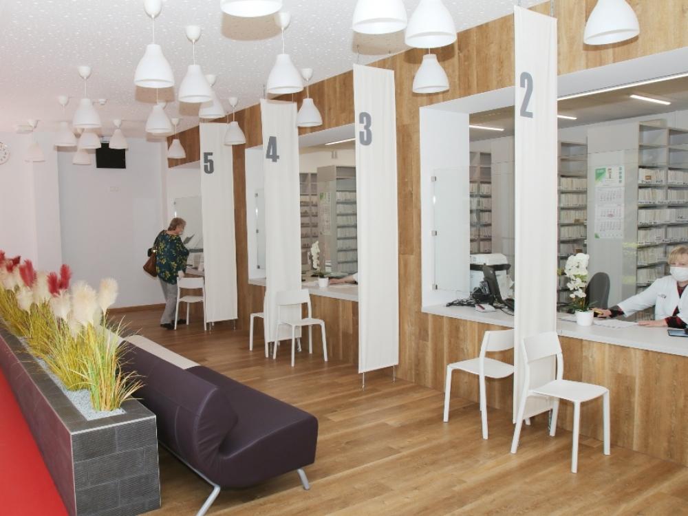 Kauno miesto poliklinika karantiną išnaudojo atsinaujinimui