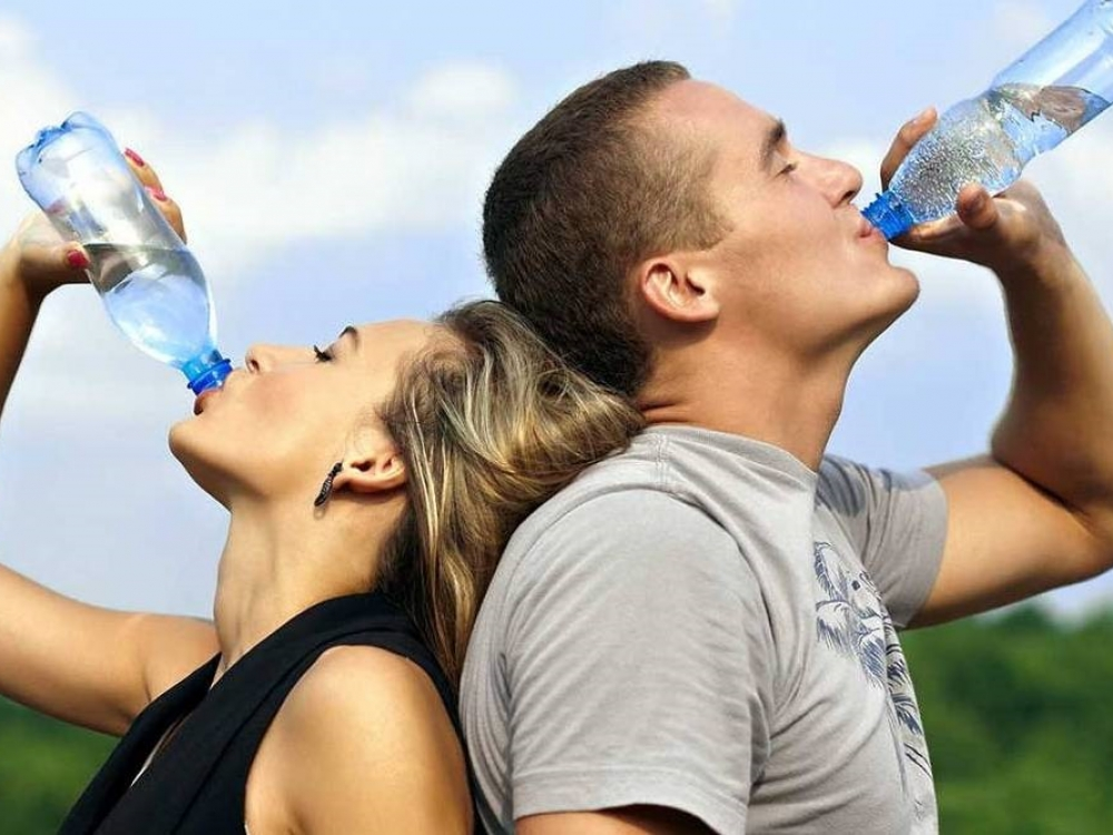 padidėjęs kraujospūdis gerkite daug vandens