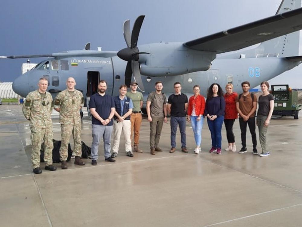 Į Armėniją išlydėta medikų pagalbos misija, padėsianti kovoti su COVID-19
