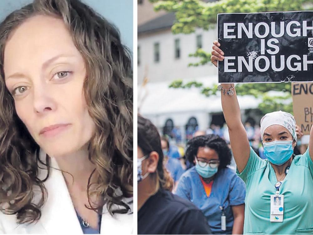 """""""TikTok"""" žinia: baltųjų rasė laipteliu aukščiau net gydymo įstaigose"""