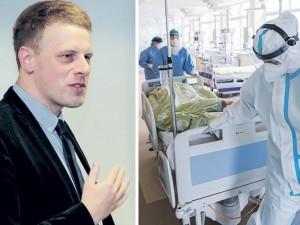 Epidemiologo žvilgsnis: latviai stebuklo nesukūrė