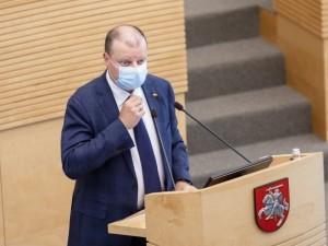 S.Skvernelis prezidento toliau prašo šaukti Valstybės gynimo tarybą dėl COVID-19 vakcinos