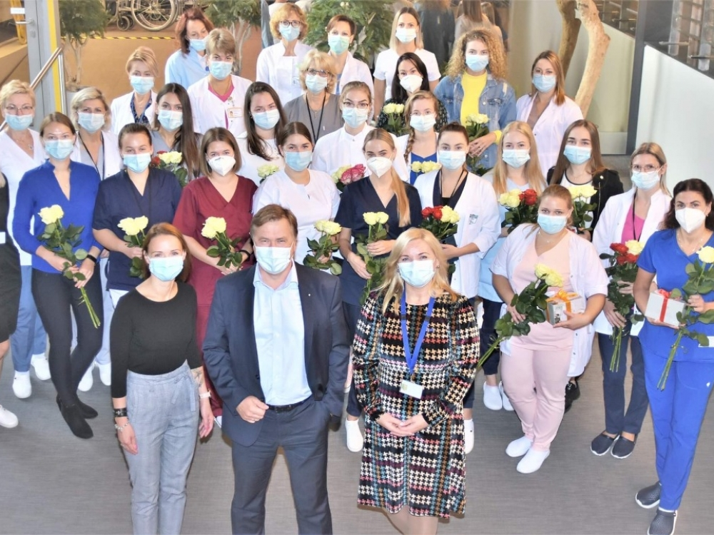 Respublikinė Klaipėdos ligoninė – patrauklus darbdavys jaunimui