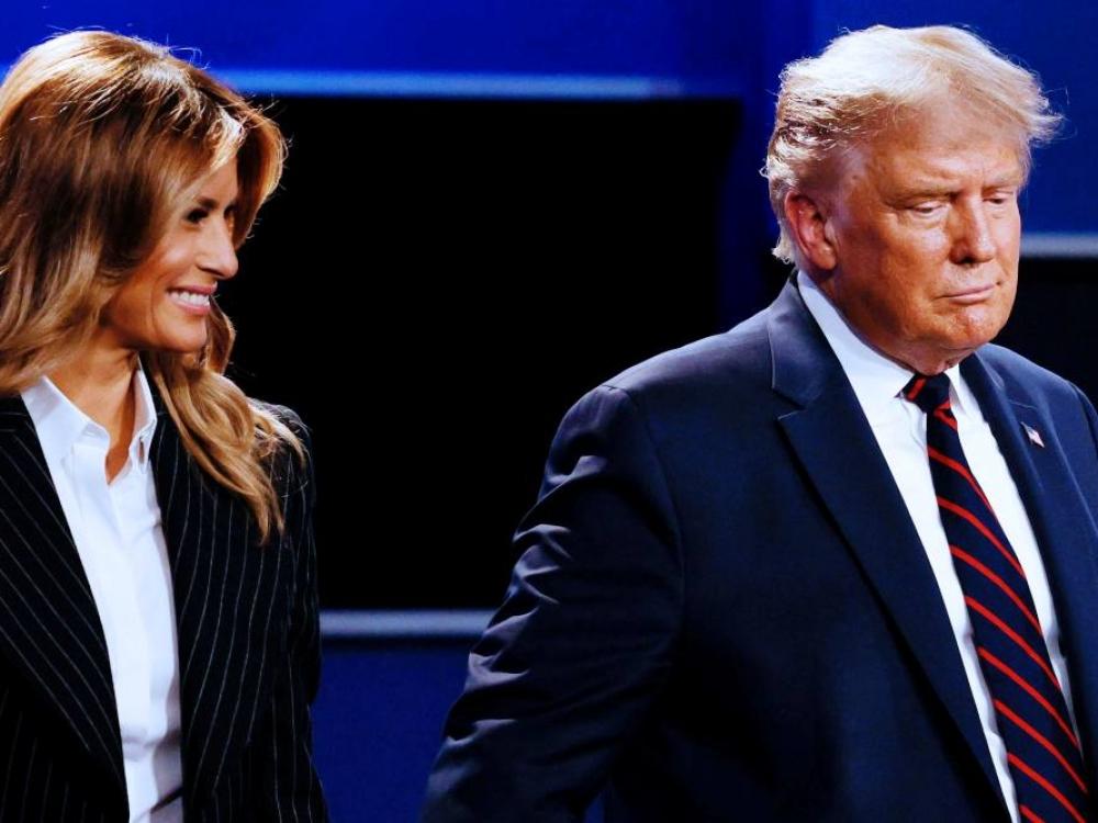 D. Trumpui ir M. Trump testais patvirtinta COVID-19, jie karantinuojasi