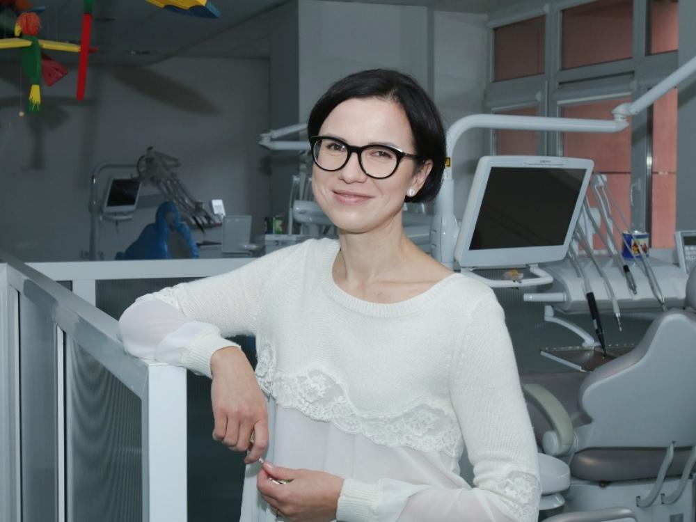 Odontologės prof. Vilmos Brukienės kėdėje – ir kūdikiai