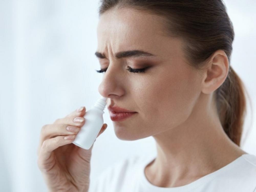 Neperlenkit lazdos dėl užgultos nosies