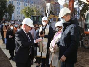 Mykolo Marcinkevičiaus ligoninėje – naujo priestato statybos
