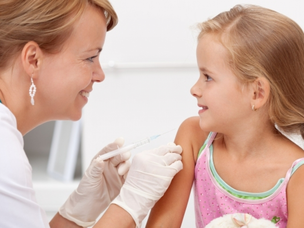 Skiepų baimė trukdo kovoti su vaikų ligomis