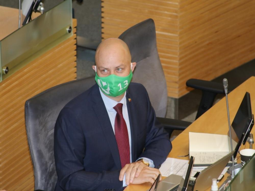 A.Veryga ragina bent porai savaičių stabdyti Seimo darbą