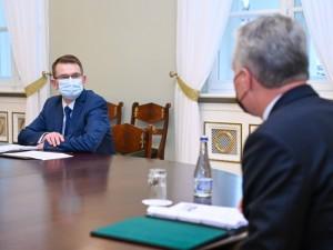 A.Dulkys: turime įtikinti visuomenę, kad komanda, kuris dirbs Vyriausybėje, dirbs kartu su prezidentu