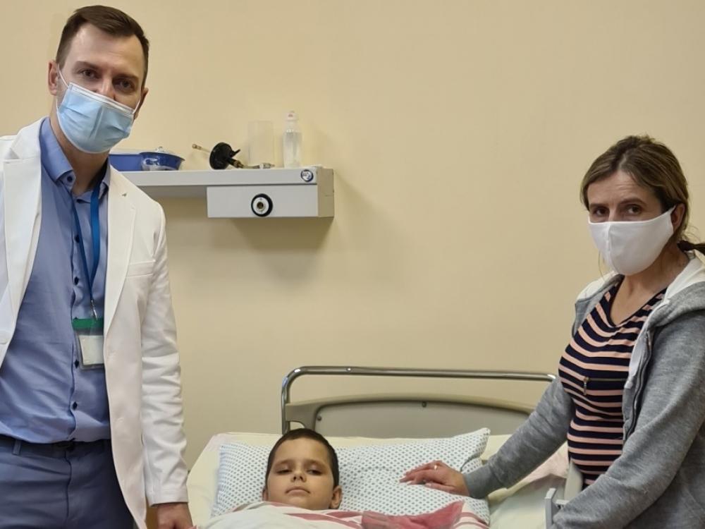 Kalėdinė gydytojų dovana devynmečiui – inovatyvi operacija