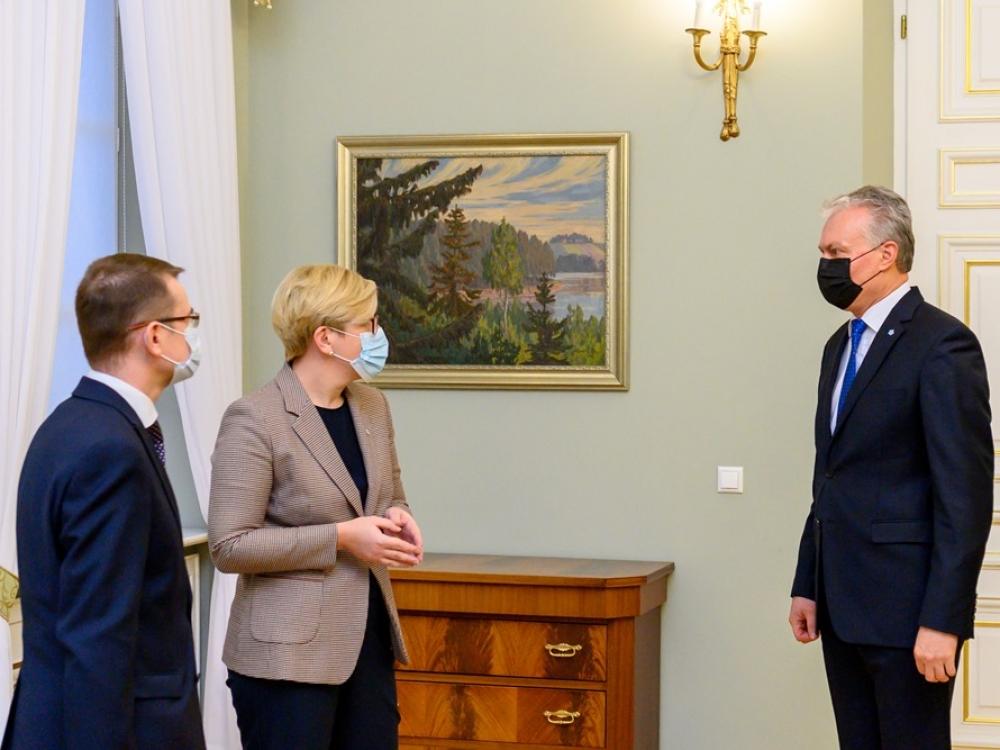 I. Šimonytė sako, kad sveikatos ministras A. Dulkys pranoko jos lūkesčius