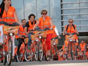 Miesto dviračiai Vilniaus gatvėmis riedės ilgiau – iki spalio pabaigos