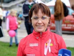 Maratonininkė Živilė Balčiūnaitė: atsitikus nelaimei, savo organus atiduočiau