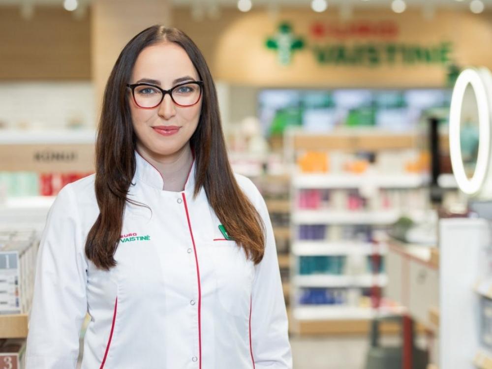 Kodėl vaistinėje nėra medžiaginių kaukių?