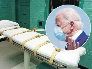 Ar Joe Bidenas panaikins mirties bausmę?