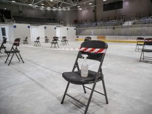 Kauno ledo rūmuose atidarytas vakcinavimo nuo COVID-19 centras