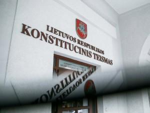 Opozicija žada skųstis Konstituciniam Teismui