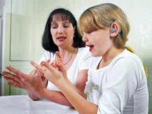 Psichologinė pagalba negirdinčiam vaikui būtina