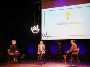 """Iniciatyvos """"Skirtingos Spalvos"""" pokalbis apie autizmo spektro sutrikimą"""
