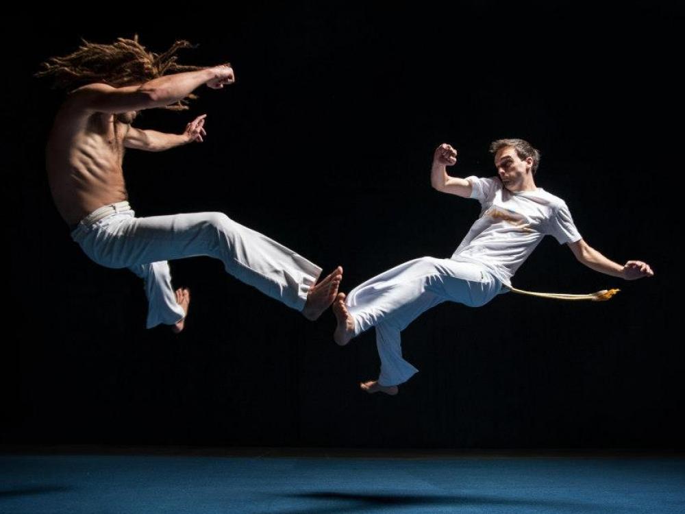Kapueira - kovos šokis kūnui ir dvasiai