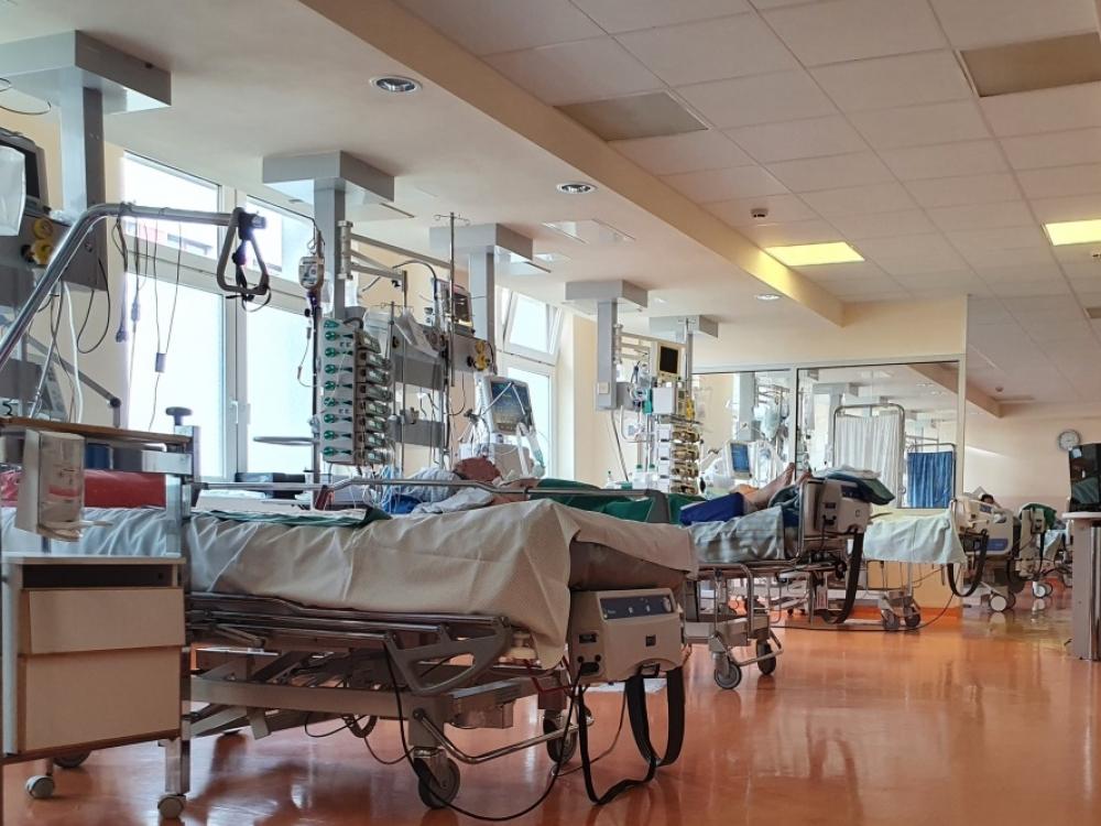 Santaros klinikų reanimacijoje vietų COVID-19 pacientams beveik neliko