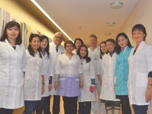 Jūrininkų ligoninei – medikų iš Kazachstano dėmesys