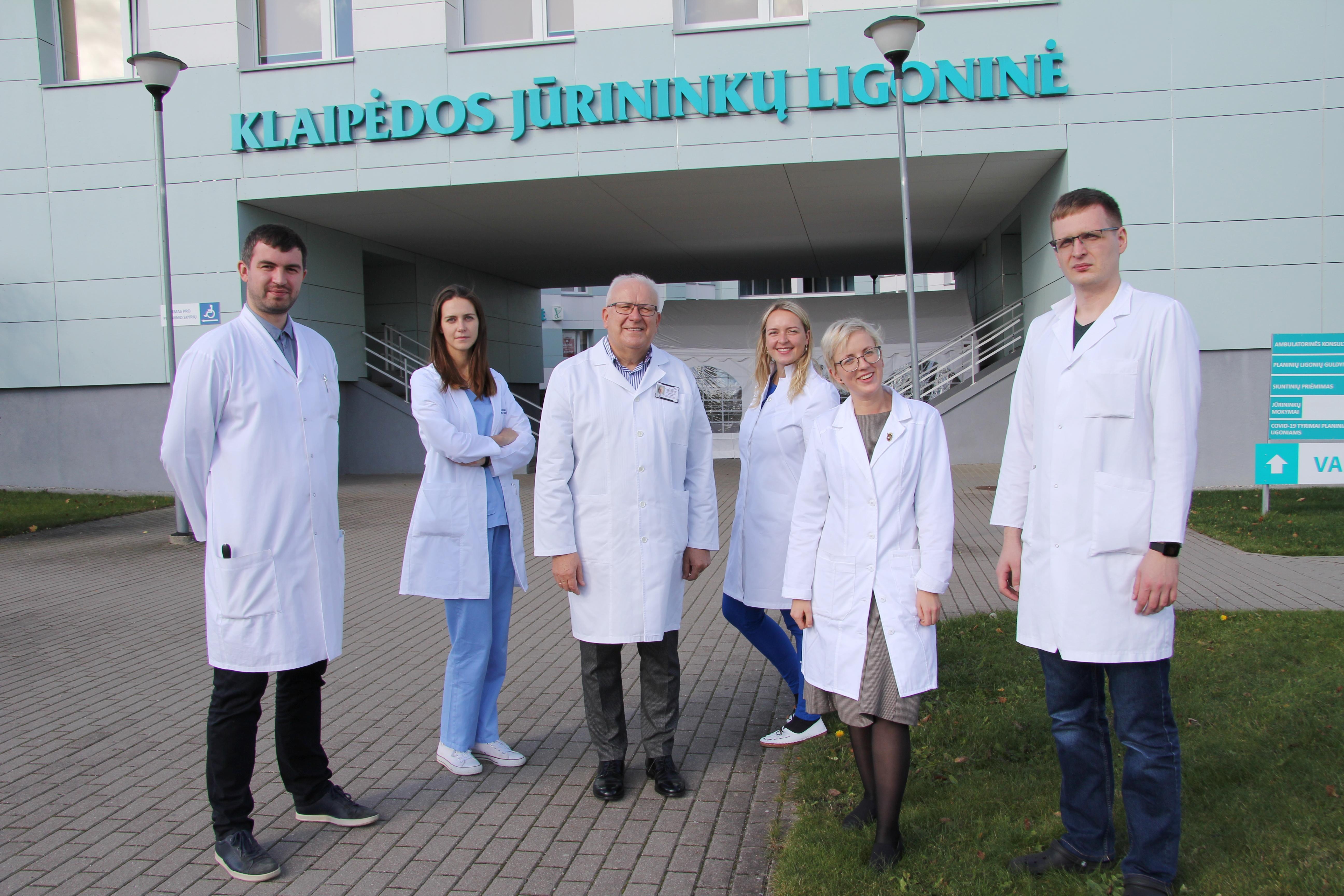 Klaipėdos jūrininkų ligoninė stiprina jaunųjų medikų gretas