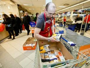 """""""Maisto bankas"""": žmonių dosnumui įtakos turi ir palankus oras"""