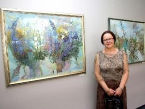 Nacionaliniame vėžio institute atidaroma žinomos tapytojos darbų paroda