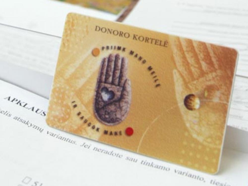 Elektroniniu būdu organų donorystei jau pritarė daugiau kaip 1500 Lietuvos gyventojų