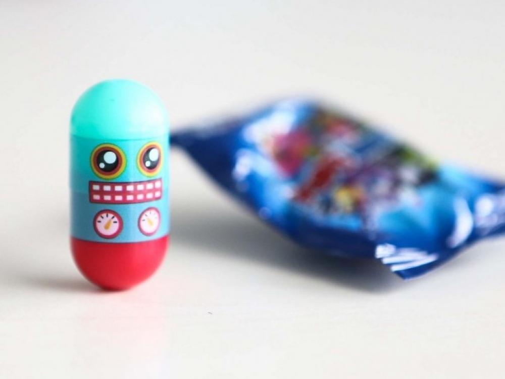 """Iš rinkos surenkami nesaugūs saldumynai su """"Puponautais"""""""