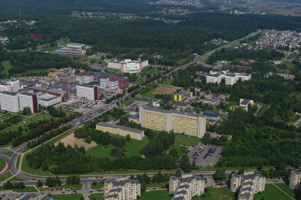 """Santariškių """"sveikatos fabrikas"""" turėtų virsti sveikatos miesteliu"""