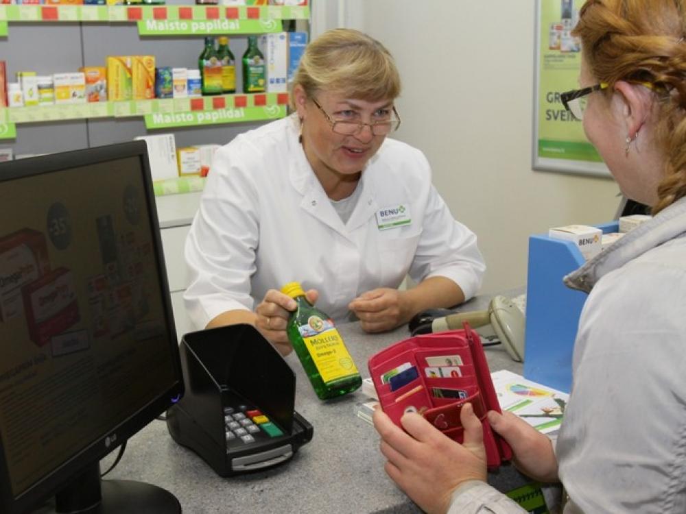 Pacientams užtenka ir vaistininko konsultacijos?