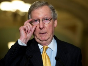 """M.McConnellis: """"Balsas už demokratus būtų nevykusios sveikatos reformos palaikymas"""""""