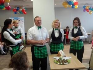 Vaikų šurmulyje – sveikos mitybos tema