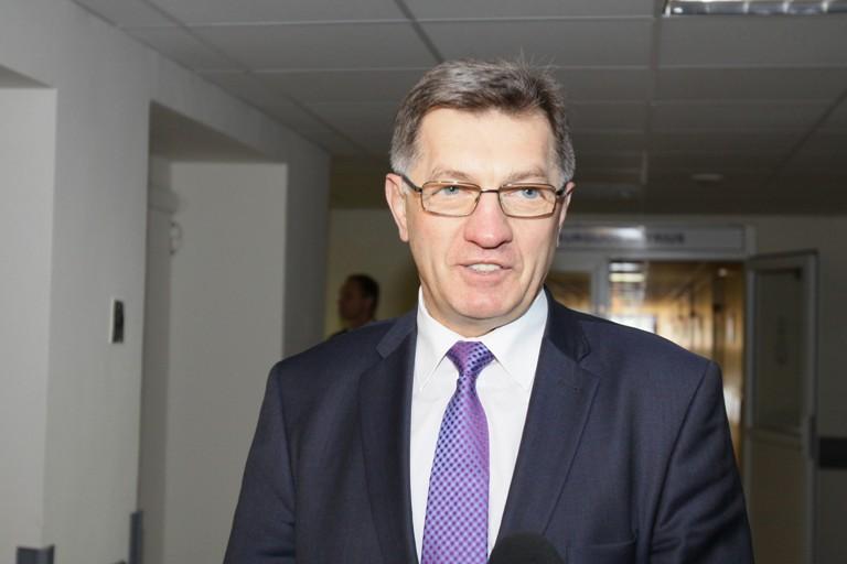 Premjeras dalyvavo Šiaulių ligoninės Priėmimo-skubiosios pagalbos skyriaus atidaryme