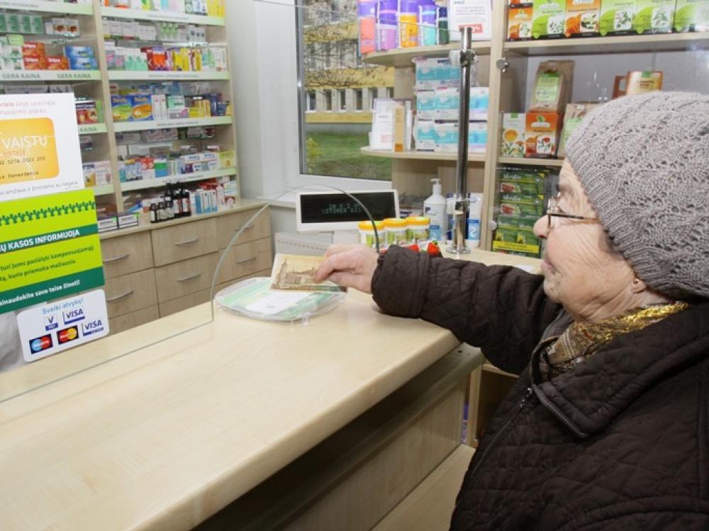 """Išlaidavimas vaistams """"užkniso juodai"""""""