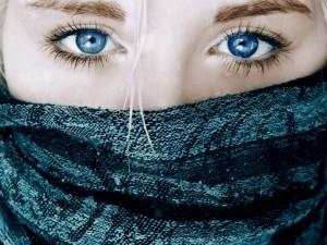 Akys ašaroja nuo... sausros