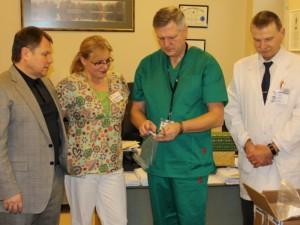 Širdies, krūtinės ir kraujagyslių chirurgijos klinikai - ketvirčio milijono litų vertės kalėdinė dovana