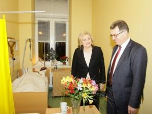 Vilkpėdės slaugos ligoninei – premjero pagyrimai