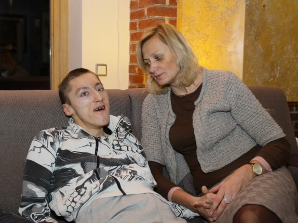 """Neįgaliojo motina: """"Jūs nukamavote mano bejėgį sūnų"""""""