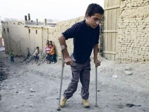 Poliomielito virusas iš Pakistano veržiasi į kitas šalis
