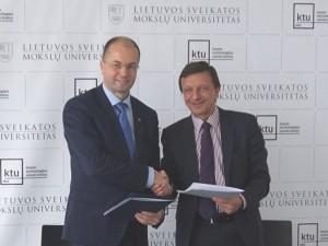 KTU ir LSMU pristatė pirmąją Lietuvos istorijoje bendrą studijų programą