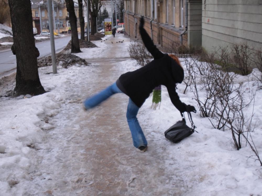 Kad dėl traumų žiema neapkarstų...