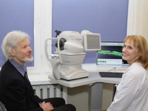 Antakalnio poliklinikoje tikslesnė akių ligų diagnostika vos per kelias minutes